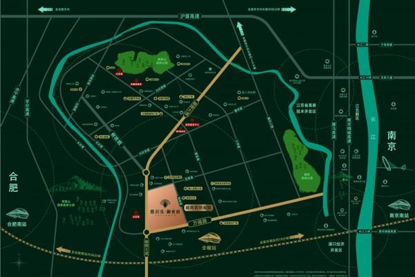 雅居乐•御宾府交通图
