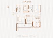 三室两厅两卫113平方